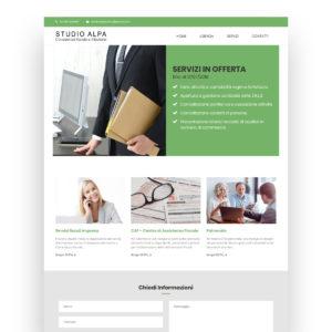 Sito in WordPress – Studio Alpa