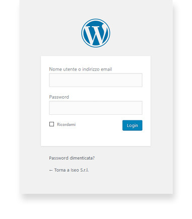 wordpress siti web iseo