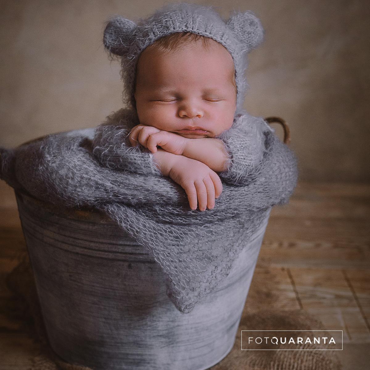 Landing Page responsive - Foto newborn - Foto Quaranta Bergamo